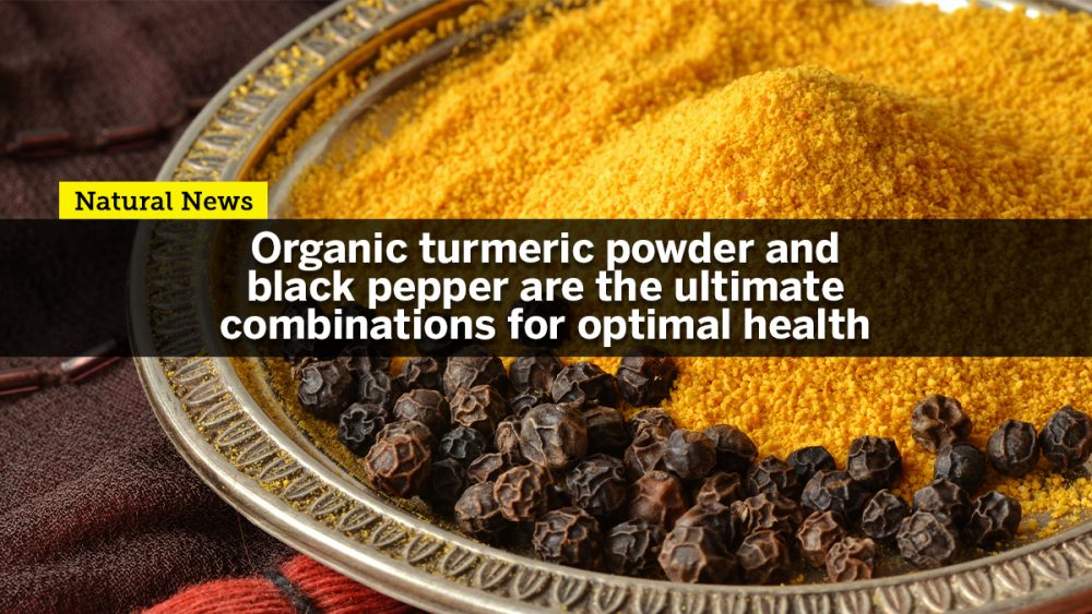 Organic turmeric powder with black pepper is the ultimate combination for optimal health