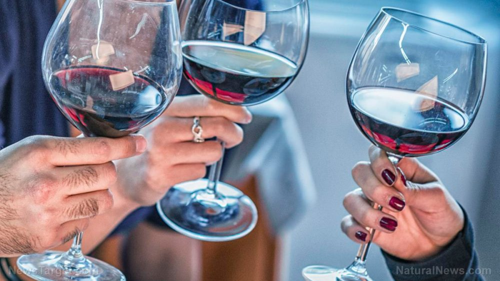 Moderate wine and beer intake can potentially improve cardiovascular health