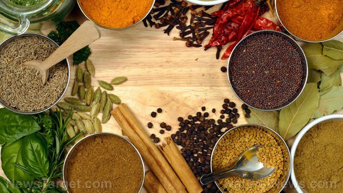 What are some of the best herbs and spices for regulating blood pressure?