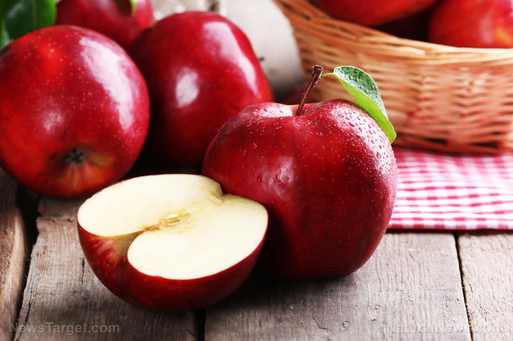 Eating two apples a day keeps heart disease away
